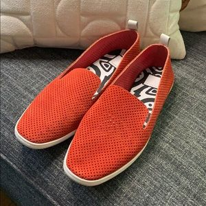 Dolce Vita Suede Perforated Slip Ons